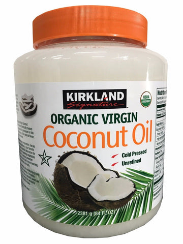Gainmart Premium Organic Refined Coconut Oil with Flavor & Aroma 1 Gallon