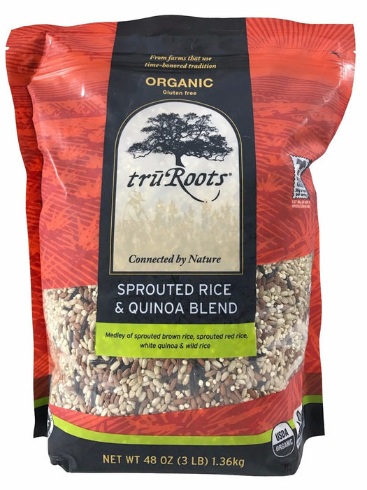 Tru Roots Organic Sprouted Rice & Quinoa Blend with Wild Rice 3 LB
