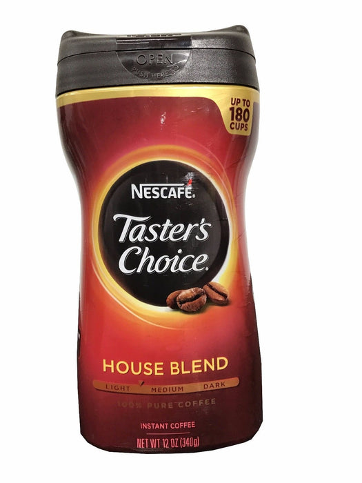 Nescafe Taster's Choice House Blend 100% Pure Instant Coffee 12 oz