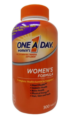 Bayer One A Day Women's Multivitamin/Multimineral Supplement 300 Tablets