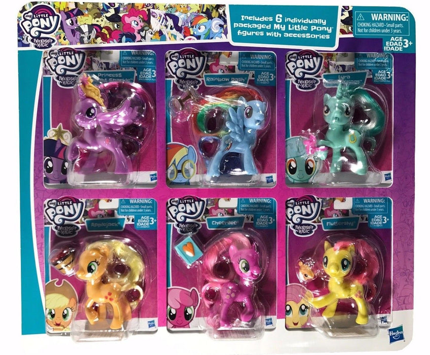 My Little Pony 6 Individually Packaged Figures with Accessories