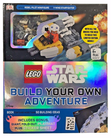 Lego Star Wars Build Your Own Adventure With Bonus Playmat,Sticker Sheet 73 Pcs
