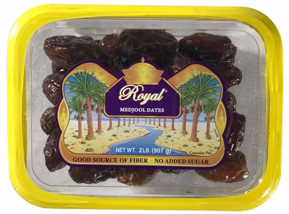 Royal Medjool Dates with Pits 2LB