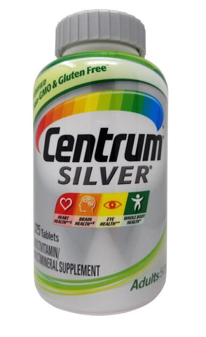Centrum Silver Adults 50+ Multivitamin/Multimineral Supplement 325 Tablets