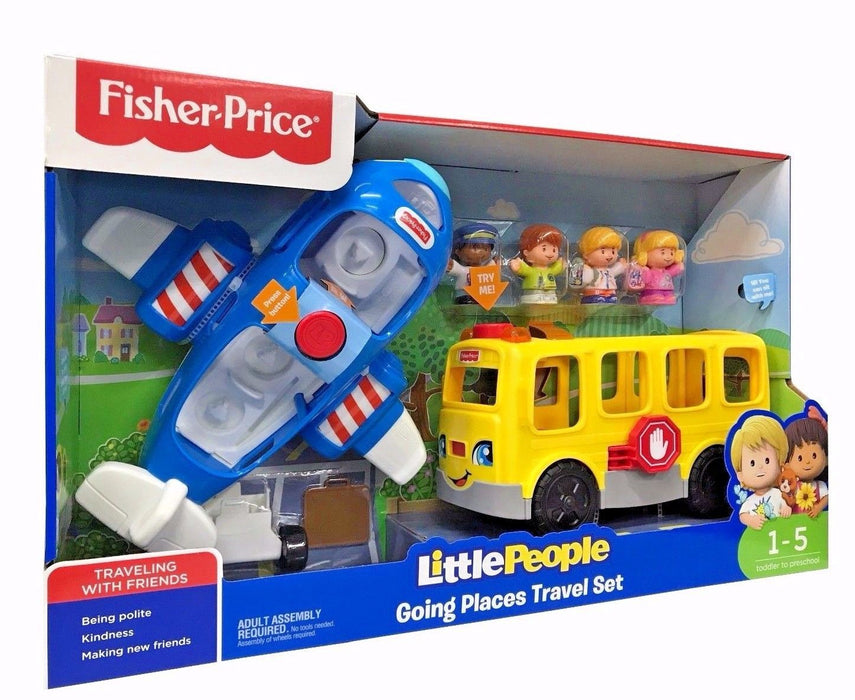 Fisher Price Little People Going Places Travel Set - Travelling with Friends