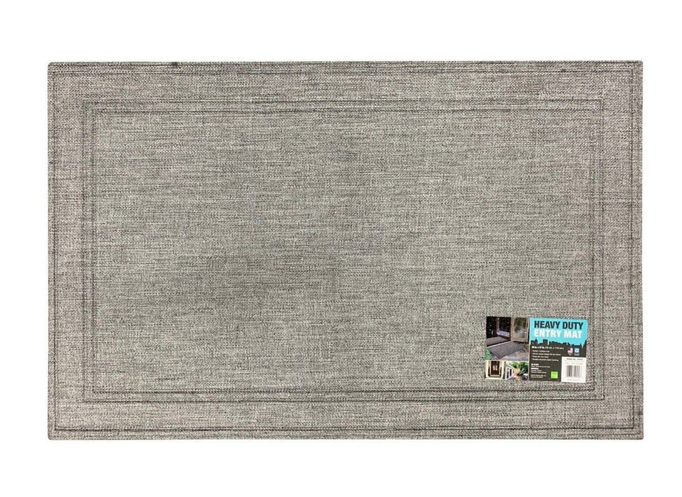 "Apache Mills Heavy Duty Entry Mat 30""x47"" - Manhattan Pewter"