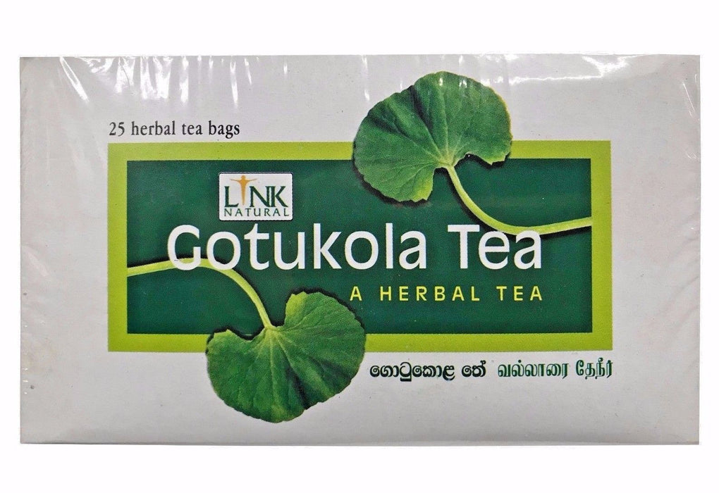 Link Natural Gotukola Herbal Tea 37.5g (Centella Asiatica) 25 Tea Bags