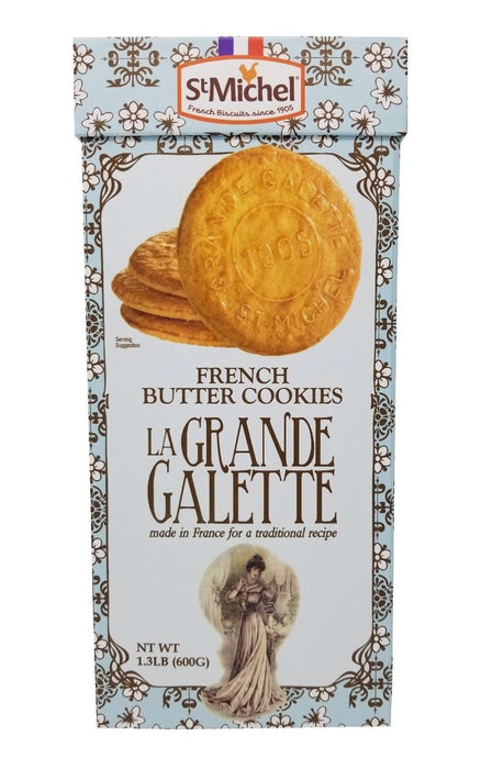 St Michel French Butter Cookies La Grande Galette from France 1.3 LB