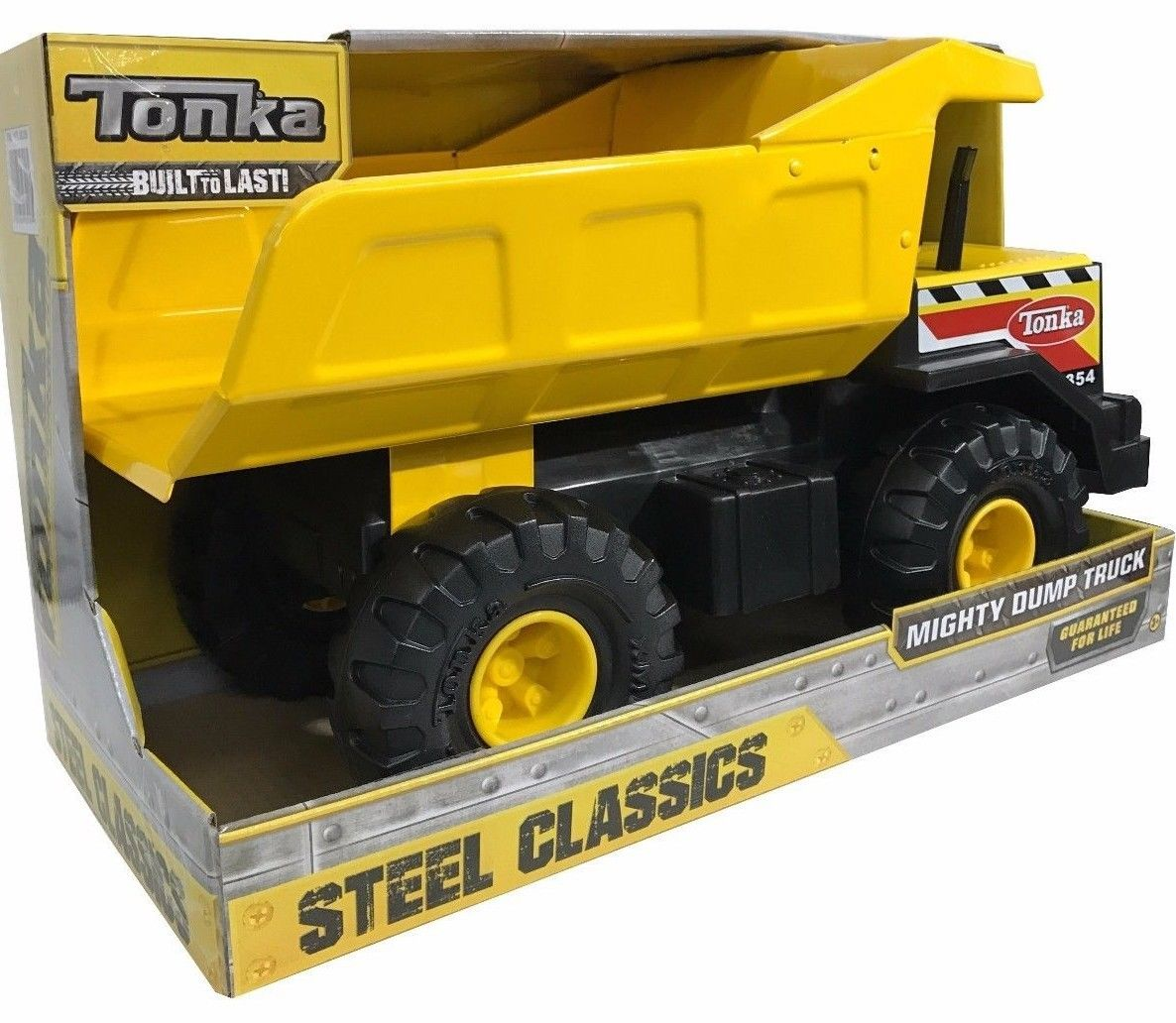 Tonka Steel Classics Mighty Dump Truck - Built to Last!
