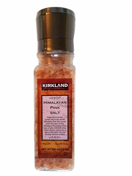 Kirkland Signature Himalayan Pink Salt with Adjustable Grinder 13 oz