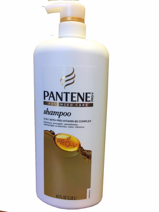 Pantene Shampoo Advanced Care 5 in 1 with Pro-Vitamin B5 Complex 40 FL OZ