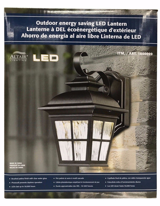Altair Lighting Outdoor Energy Saving LED Lantern Up To 50,000 Hours