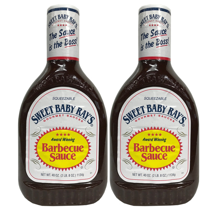 Sweet Baby Ray's Gourmet Award Winning Original Barbecue BBQ Sauce 40 oz 1-2pk