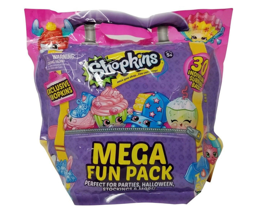 Shopkins Mega Fun Pack - Parties/Halloween Exclusive 30 Individual Surprise Bags
