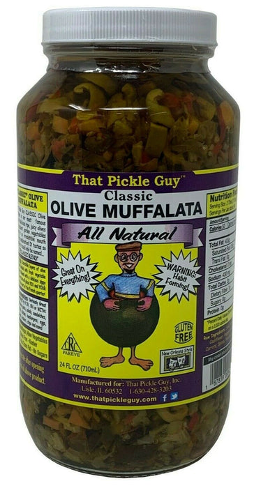 That Pickle Guy Classic All Natural Olive Muffalata 24 FL OZ
