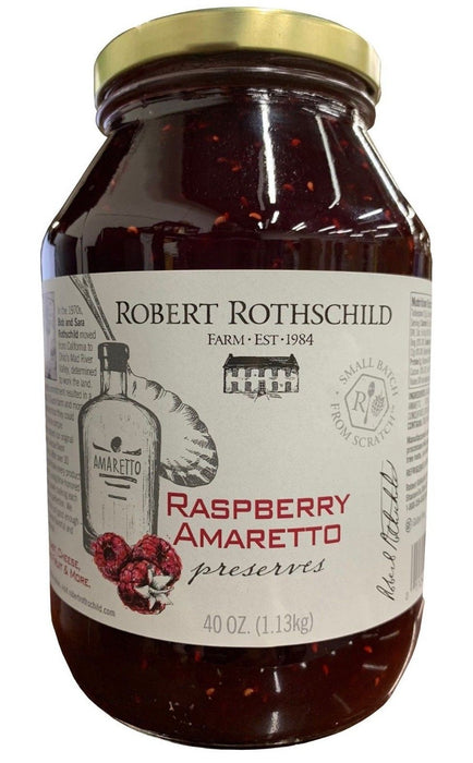 Robert Rothschild Raspberry Amaretto Preserves 40 OZ