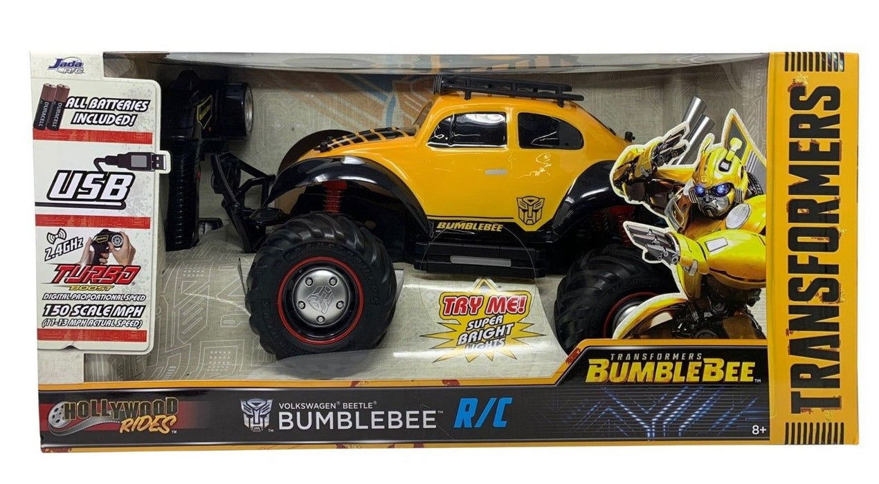 Transformers Bumblebee R/C Volkswagen Beetle Car with Turbo Boost