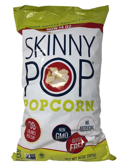 Skinny Pop Popcorn Pure Popped Perfection 14 OZ