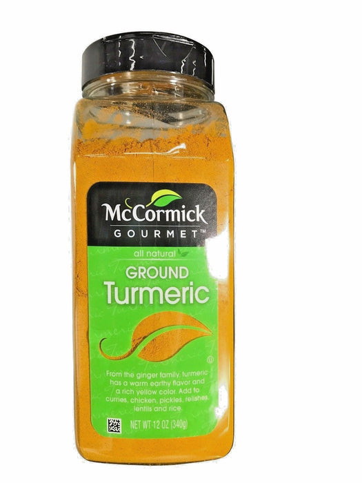 McCormick Gourmet All Natural Ground Turmeric 12 OZ
