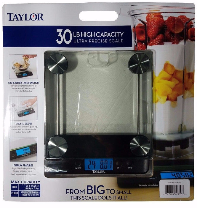 Taylor 30LB High Capacity Ultra Precise Food Scale