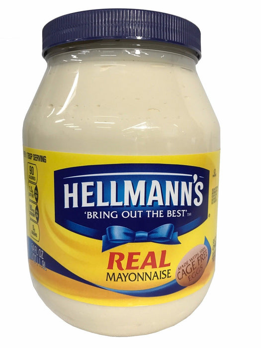 Hellmann's Real Mayonnaise Made with 100% Cage Free Eggs 64 FL OZ