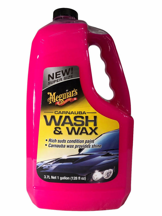 Meguiar's Carnauba Wash & Wax 128 FL OZ Condition & Shine 1 Gallon