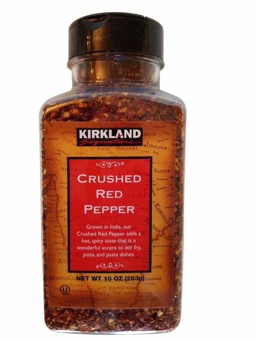 Kirkland Signature Crushed Red Pepper Finest Quality 10oz