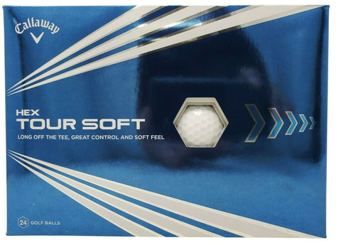 Callaway Hex Tour Soft Golf Balls Long Off The Tee, Great Spin & Control - 24 Pk