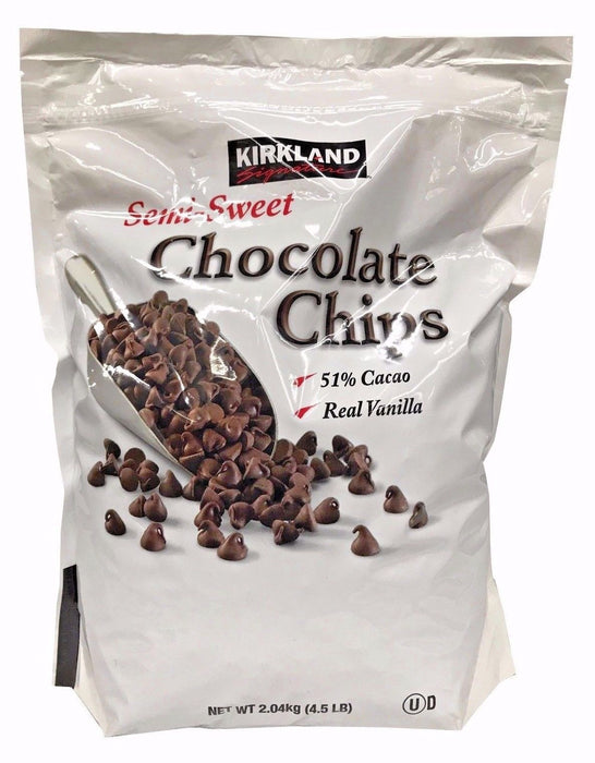 Kirkland Signature Semi-Sweet Chocolate Chips 4.5 LB