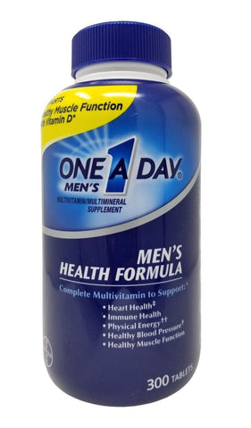 Bayer One A Day Men's Multivitamin/Multimineral Supplement 300 Tablets