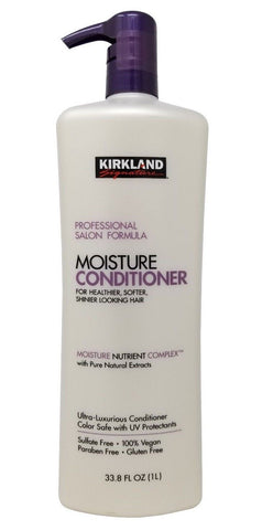 Kirkland Signature Professional Salon Formula Moisture Conditioner 33.8 FL OZ