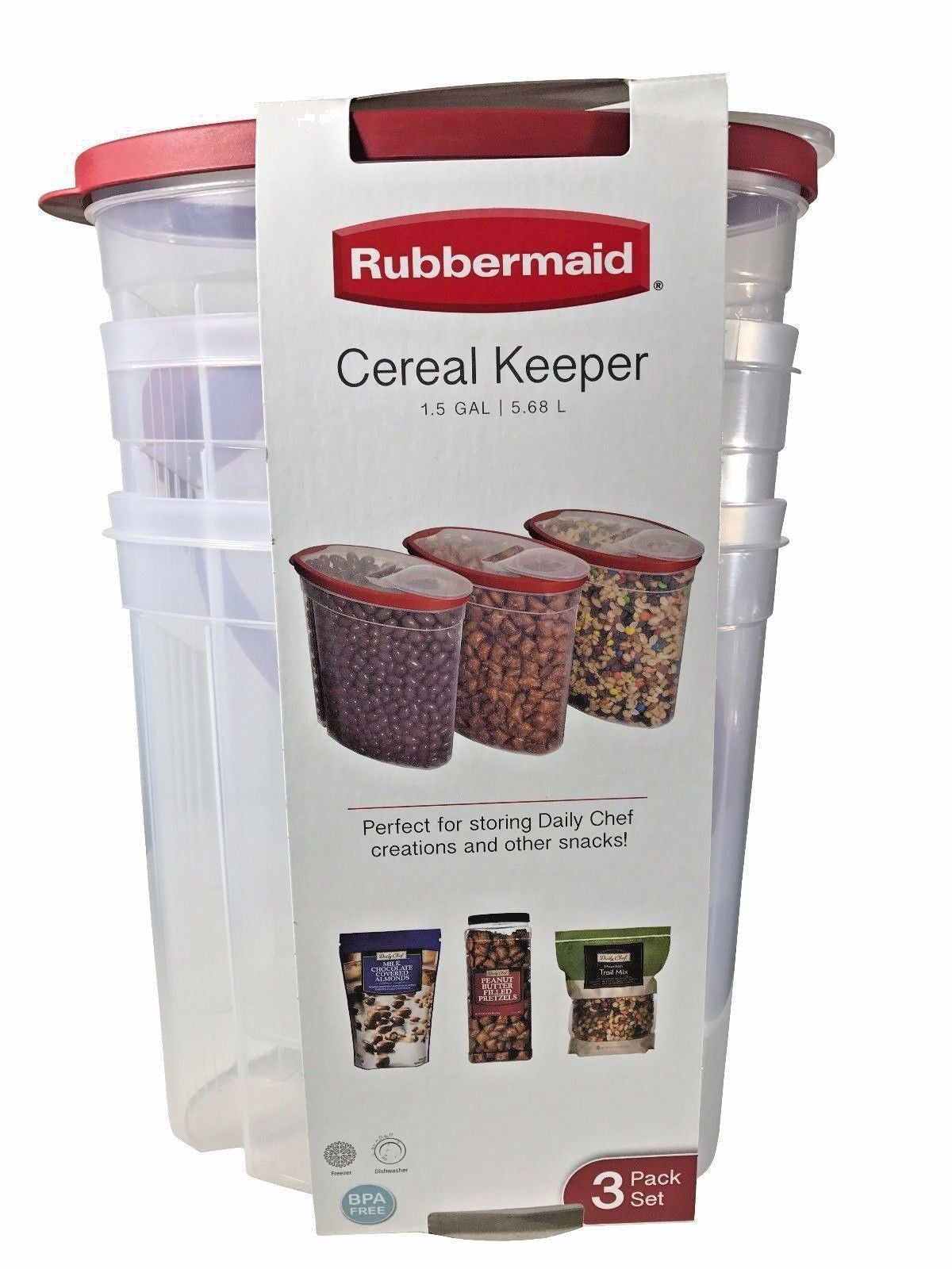 1.5-Gallon Rubbermaid Cereal Keeper