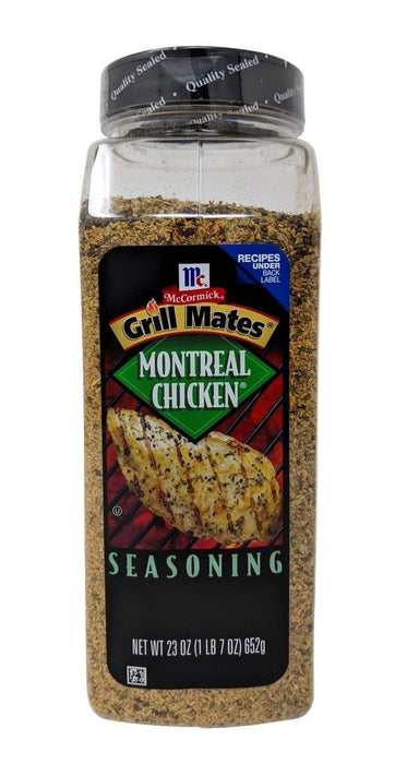 McCormick Grill Mates Montreal Chicken Seasoning 23 OZ