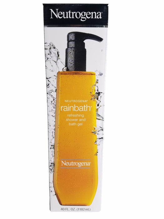Neutrogena Rain Bath Refreshing Shower and Bath Gel 40 FL OZ Bottle