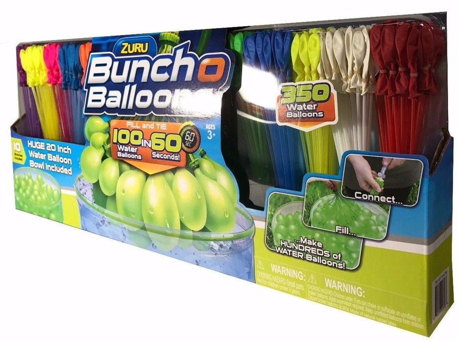 Zuru Bunch O Balloons with Huge 20 in Bowl - 350 Water Balloons