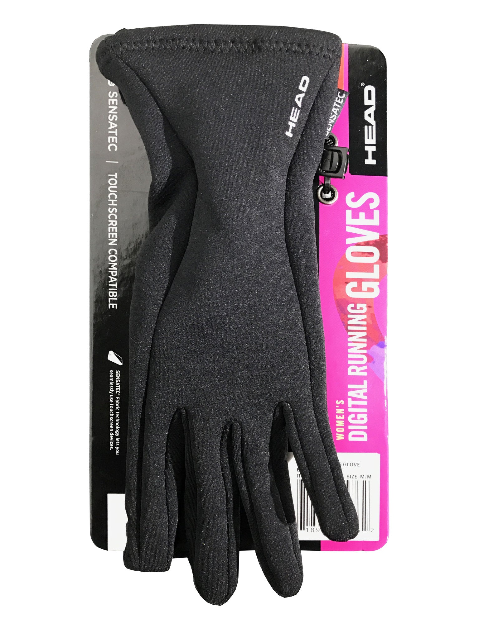 Head Women's Digital Running Gloves Sensatec Touchscreen Compatible M or S sizes [M]