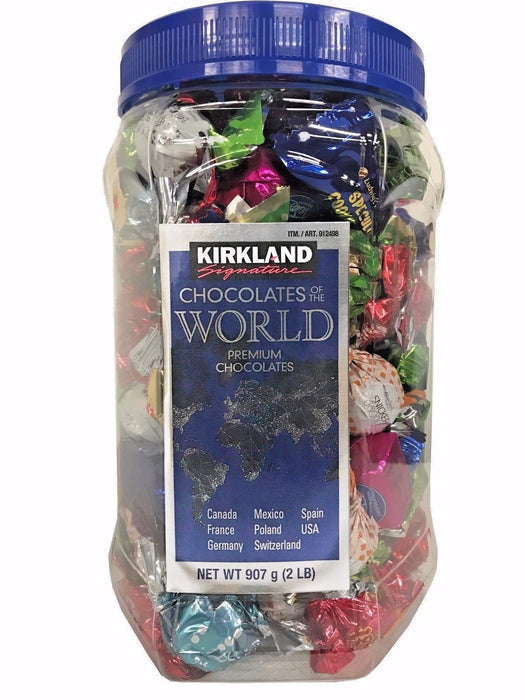 Kirkland Signature Chocolates of the World Premium Chocolates 2 LB