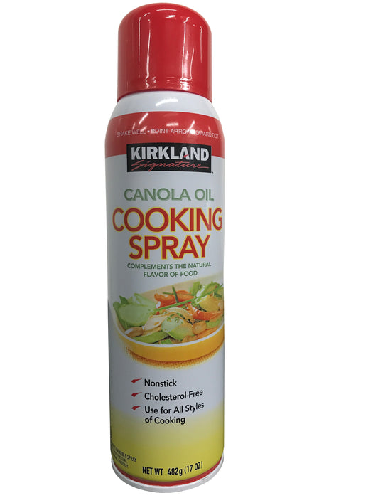 Kirkland Signature Canola Oil Nonstick Cooking Spray 17oz