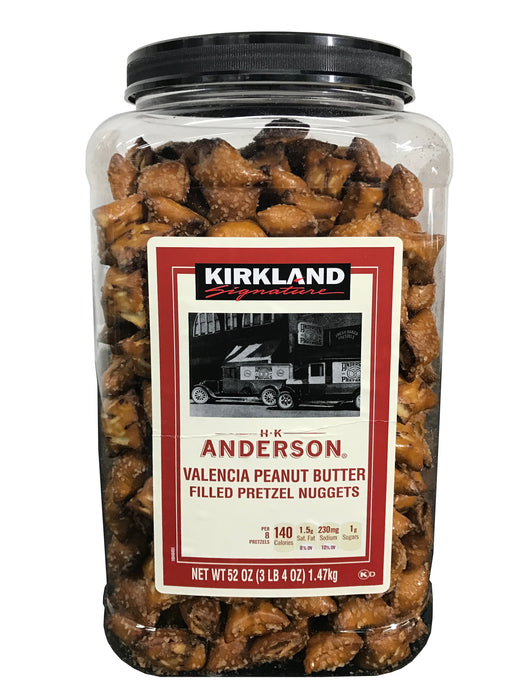 Kirkland Signature Peanut Butter Filled Pretzel Nuggets 55 OZ
