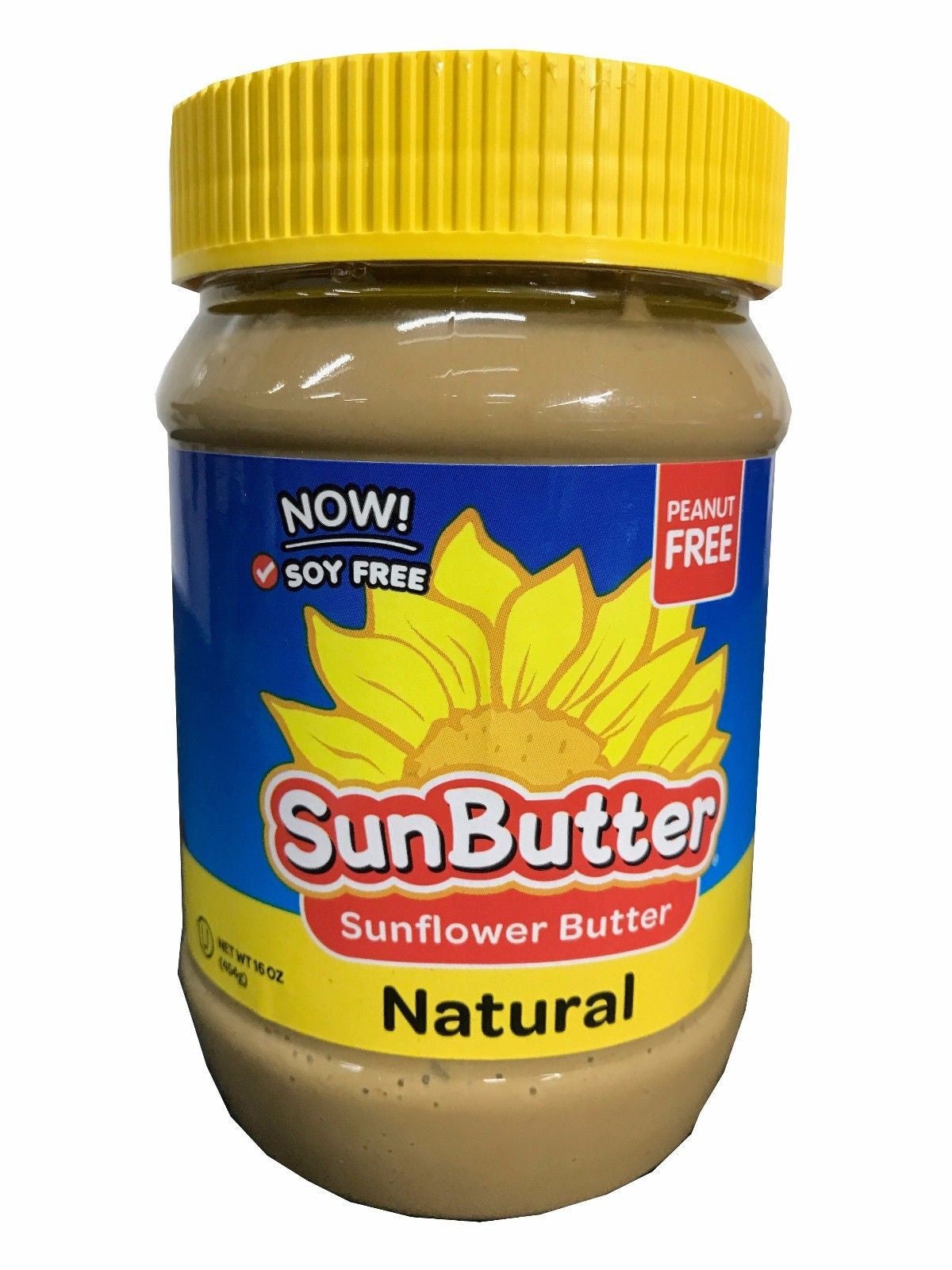 Sun Butter Natural Peanut & Diary Free Sunflower Butter 16 Oz