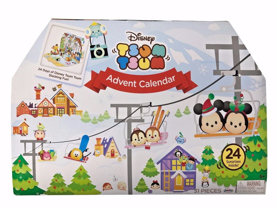Disney Tsum Tsum Advent Calendar 31 Pieces 24 Surprises Inside