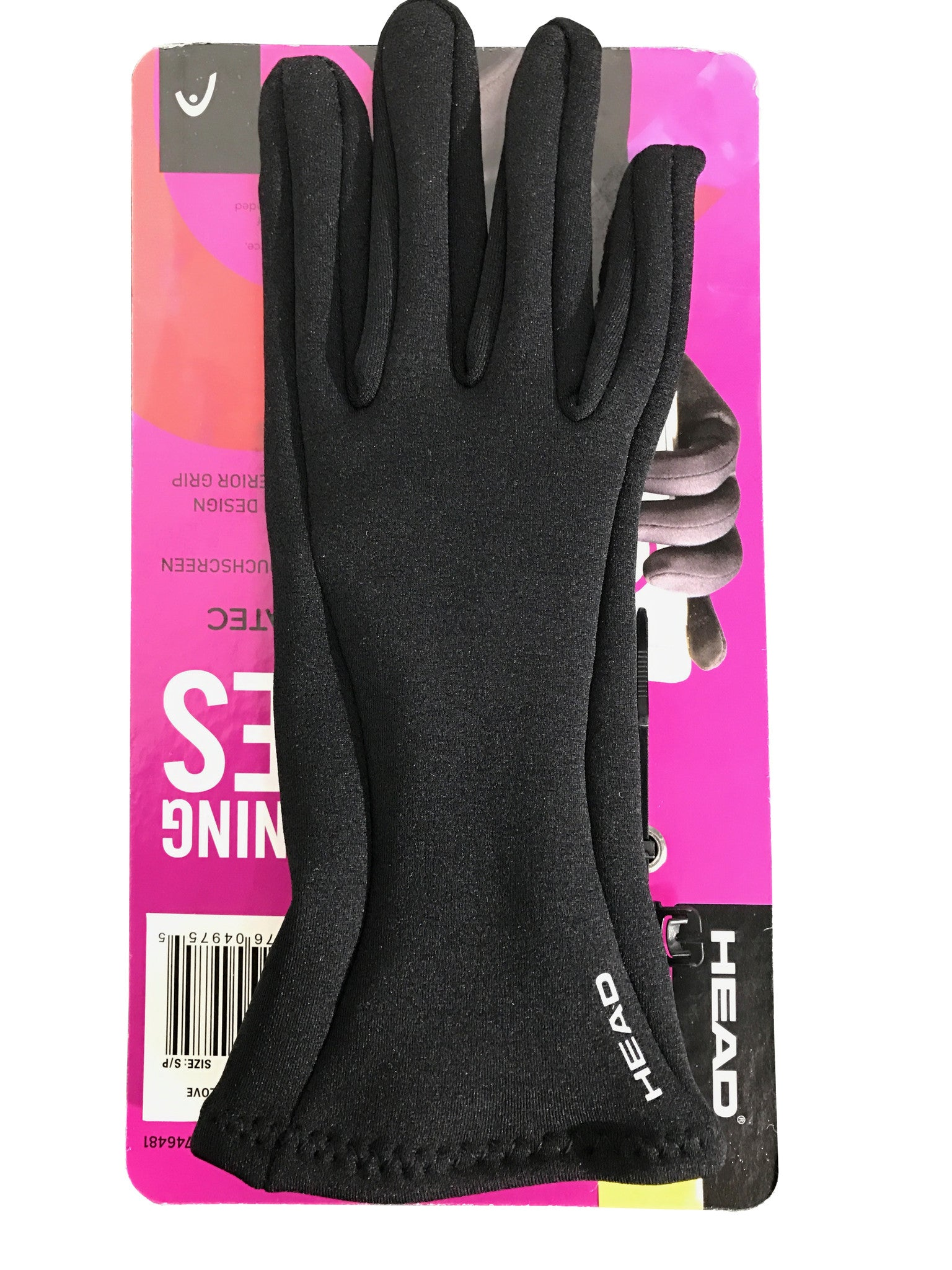 Head Women's Digital Running Gloves Sensatec Touchscreen Compatible M or S sizes [S]