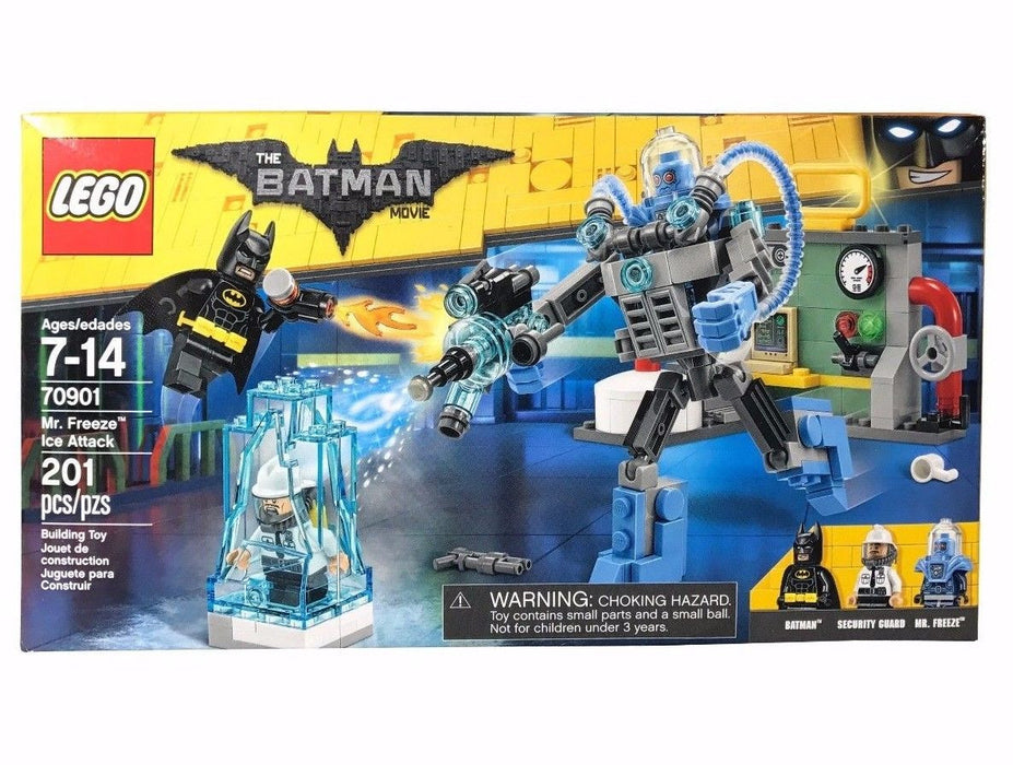 Lego 70901 Batman Movie Mr. Freeze Ice Attack 201Pcs Building Toy Security Guard