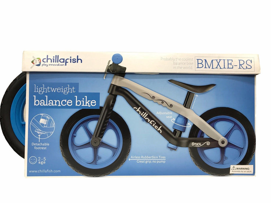 Chillafish Lightweight Balance Bike BMXIE-RS with Adjustable Seat & No-Air Tires