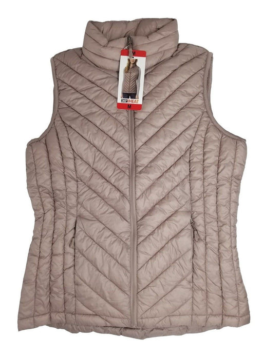 32 Degrees Heat Lightweight Women's Vest - Light Blush Color - Medium