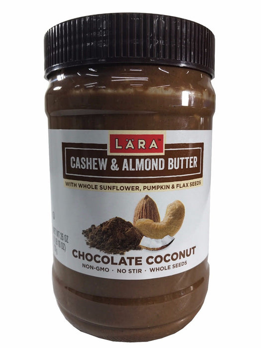 Lara Cashew & Almond Butter with Sunflower Pumpkin Flax Chocolate & Coconut 26oz