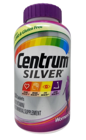 Centrum Silver Women 50+ Multivitamin/Multimineral Supplement 250 Tablets