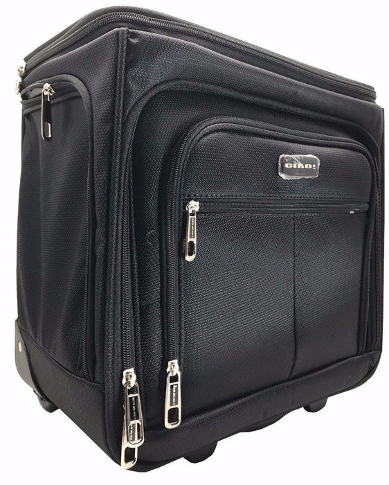 Ciao Carry-On Travel Bag Expandable 2 Size Luggage
