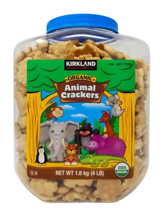 Kirkland Signature Organic Animal Crackers 4 LB