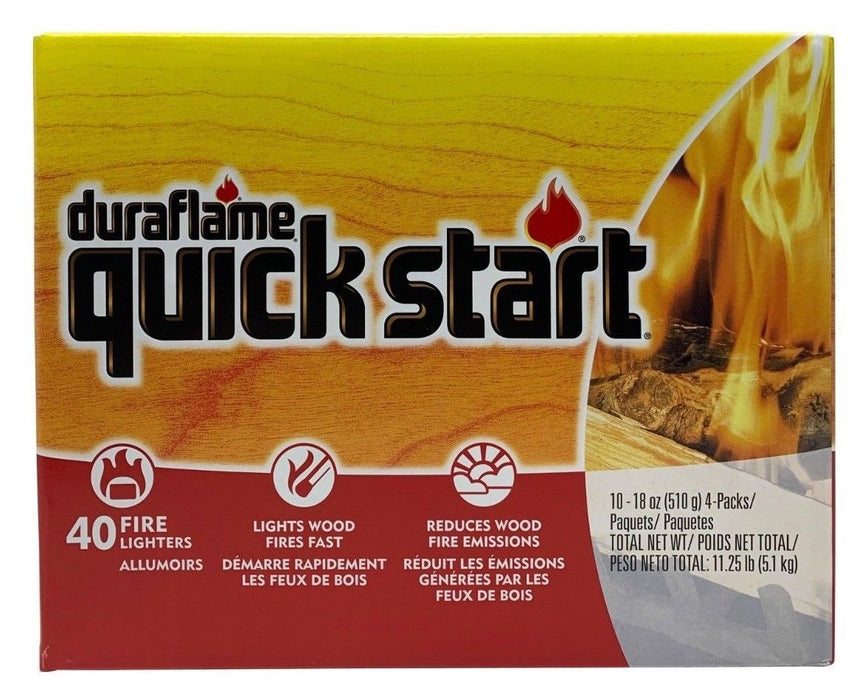 Duraflame Quick Start Fire Lighters Net 11.25 LB 40 Pack